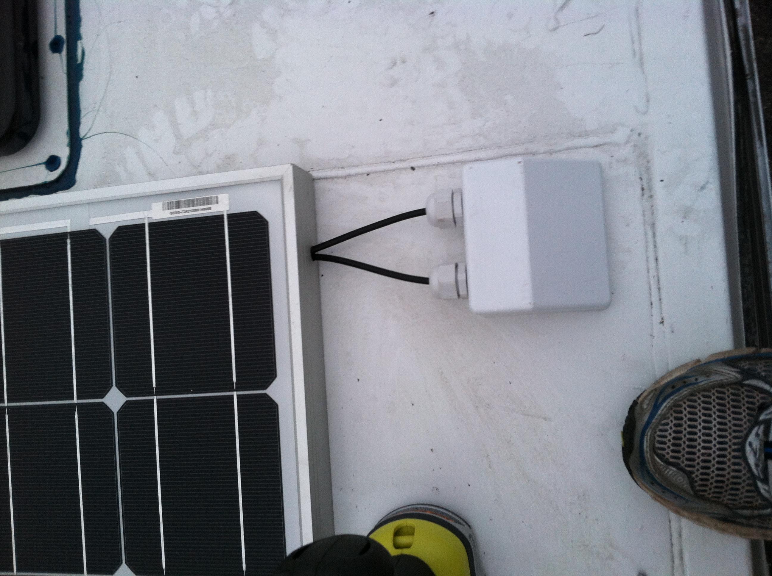 Solar Panel Installation – The Craggin\' Wagon